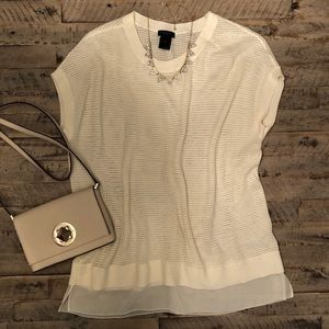 Ann Taylor Perfect Condition short sleeve top